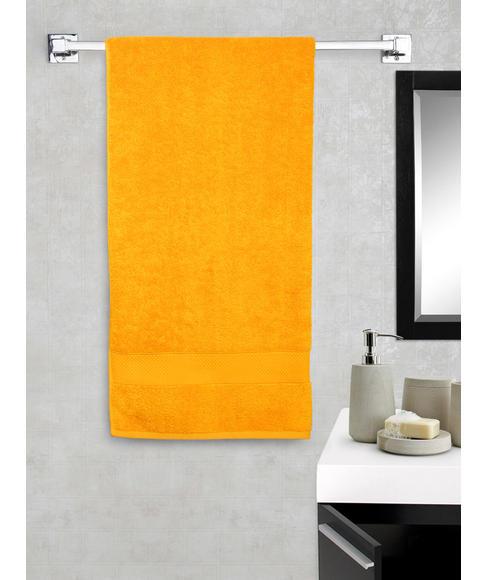 New Ultralux Flame Orange Bath Towel