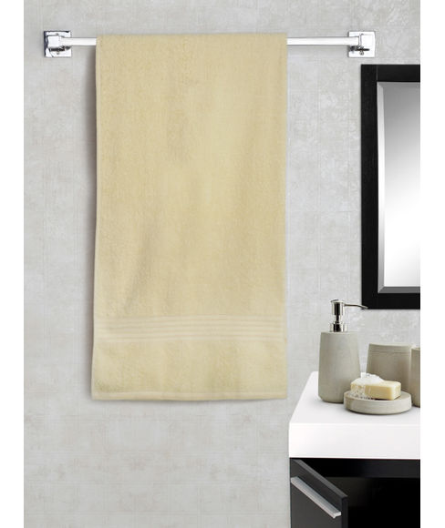 Eva Double Cream Bath Towel