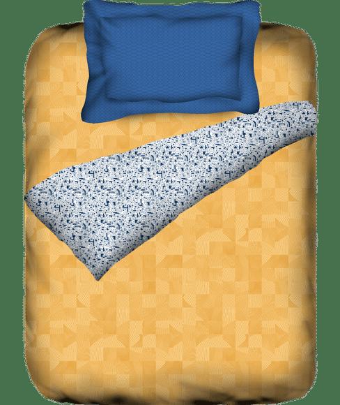 Hashtag Comforter Single Size