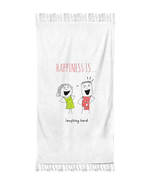 Happiness Is Medium Towel