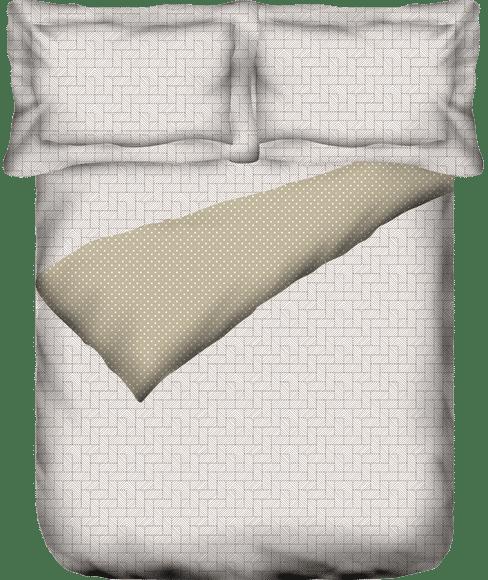 Melange bedcover Super King Size