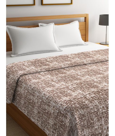 Imprints Coffee Blanket Double Size