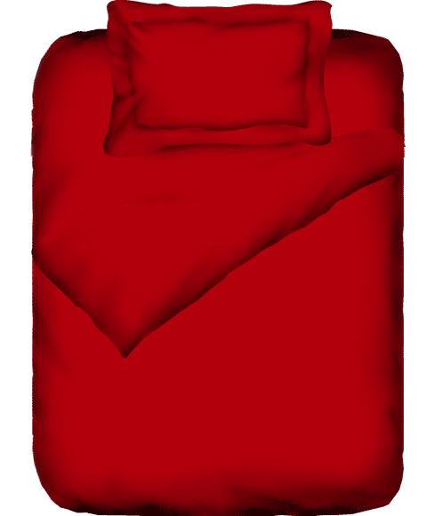 Supercale Red Flame Duvet Cover Single Size