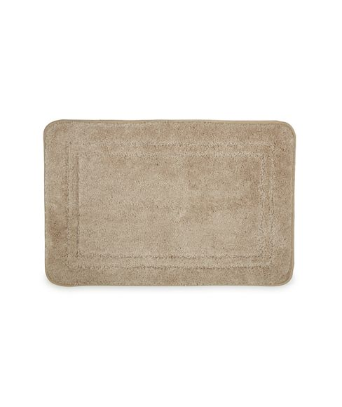 Window Tan Pane Bath Mat Large Size