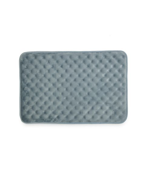 Eggshell Light Grey Bath Mat Large Size