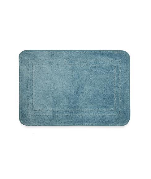 Window Pane Blue Shadow Bath Mat Small Size