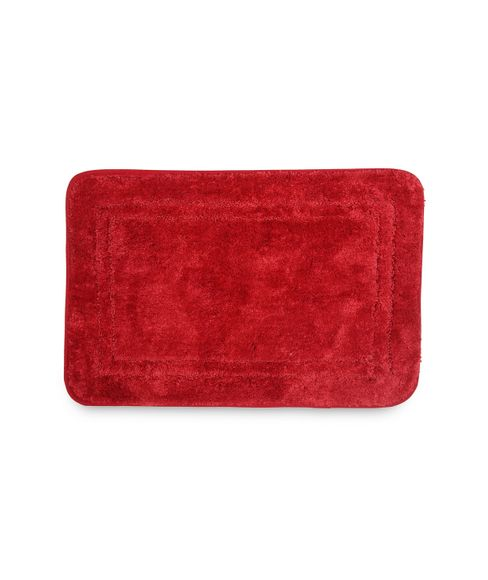 Window Scarlet Pane Bath Mat Small Size