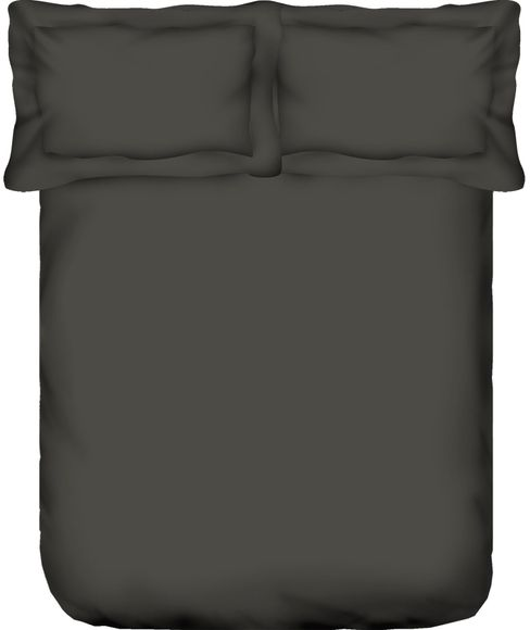 Percale Slate Bedsheet Queen Size