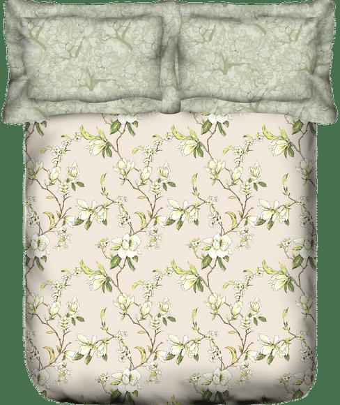 Liva Vintage Bloom Bedsheet Super King Size