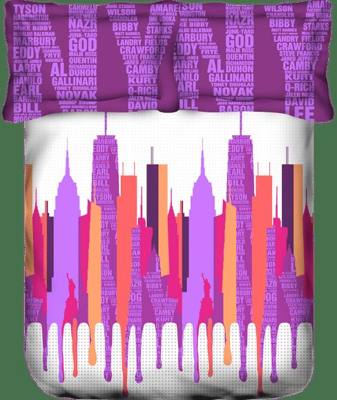 Lavender Bedsheet Super King Size