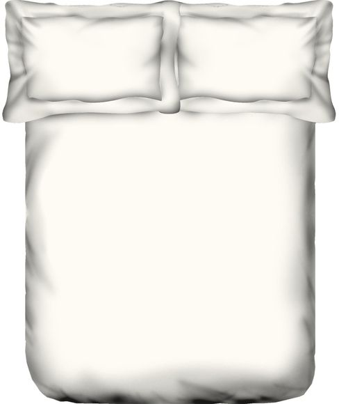Supercale Optical White Bedsheet Super King Size