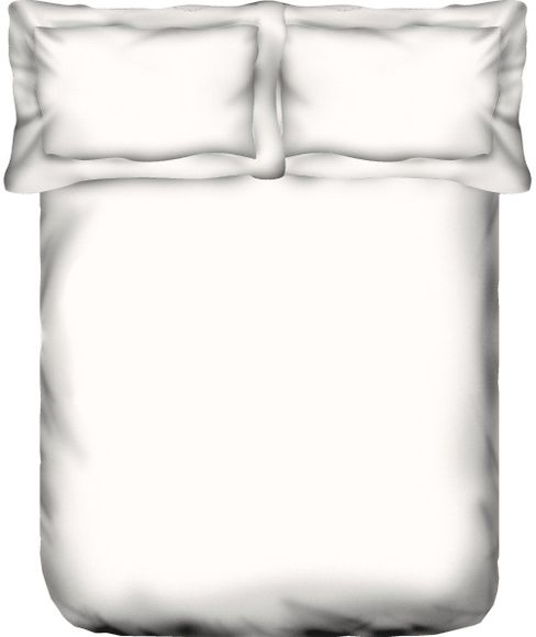 Grandeur White Bedsheet Super King Size