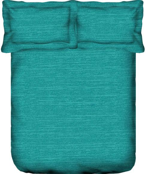 Imprints Bright Aqua Bedsheet Super King Size