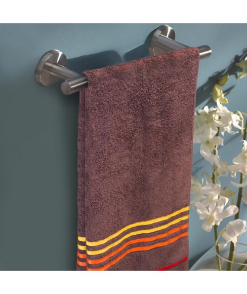 Tiara Toffee Brown Bath Towel