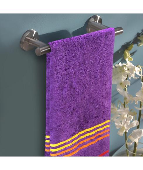 Tiara Orchid Purple Bath Towel