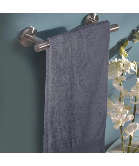 Eva Smokey Grey Bath Towel XL Size