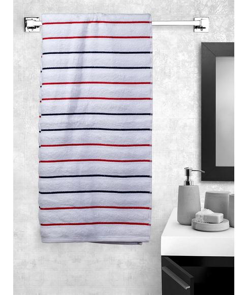 Myra White Bath Towel