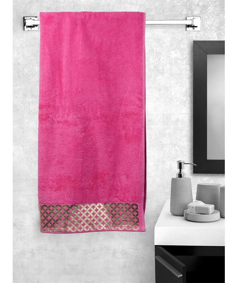 Mia Prim Rose Bath Towel