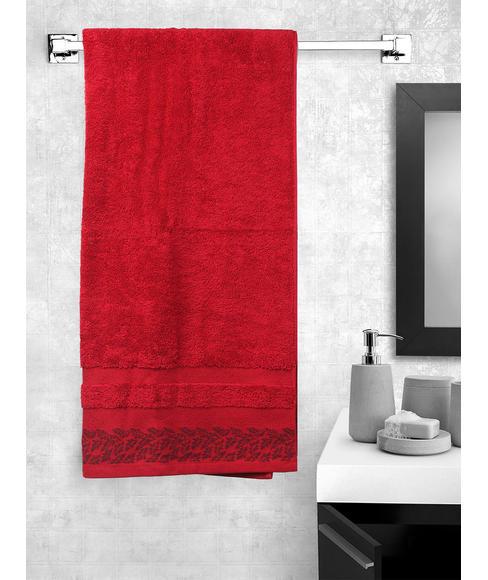 Ariana Jacquard African Rust Bath Towel