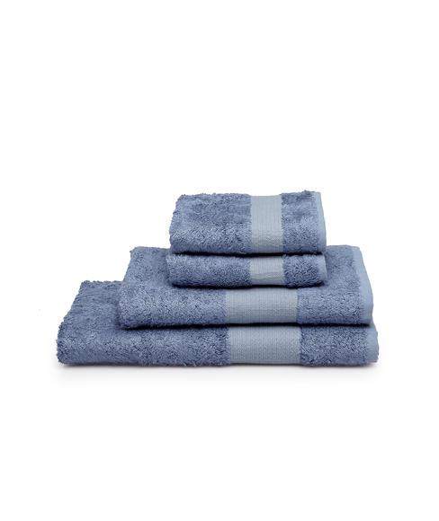 Lagoon Bamboo Silver Chain Towel Set