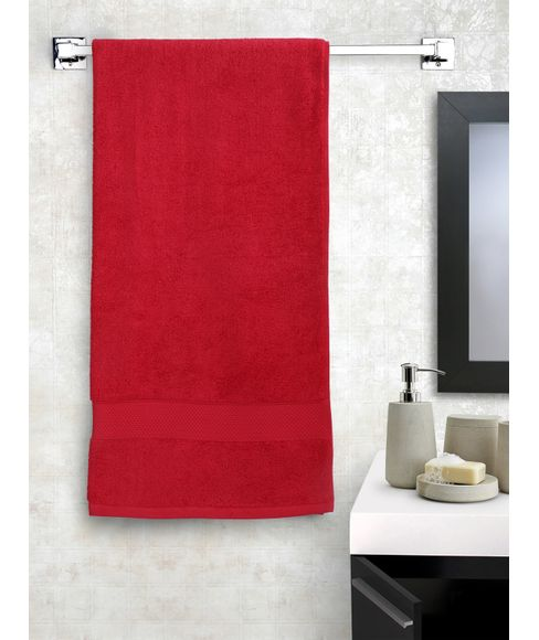 New Ultralux Red Saper Hand Towel