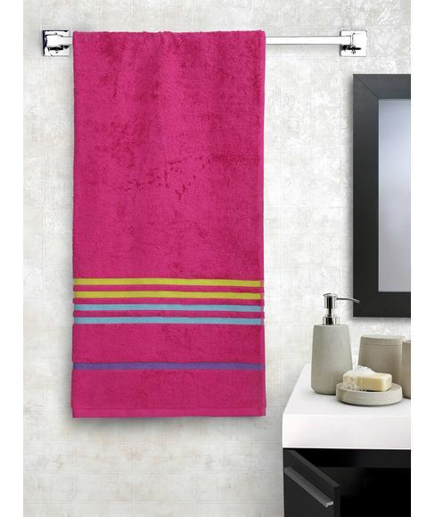 Tiara Tommy Red Bath Towel