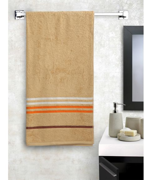 Tiara Frappe Beige Bath Towel