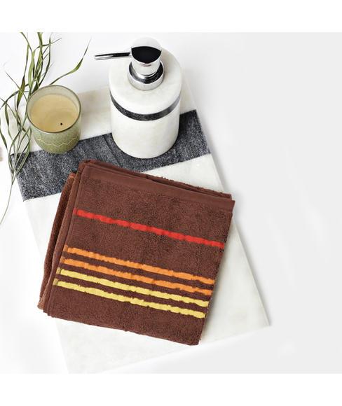 Tiara Toffee Brown Medium Towel