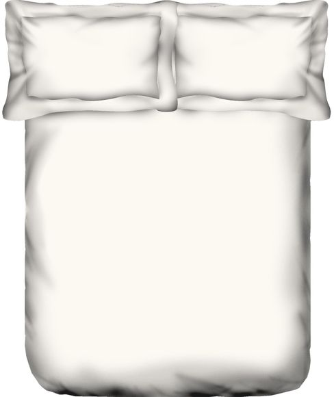 Supima White Bedsheet Super King Size