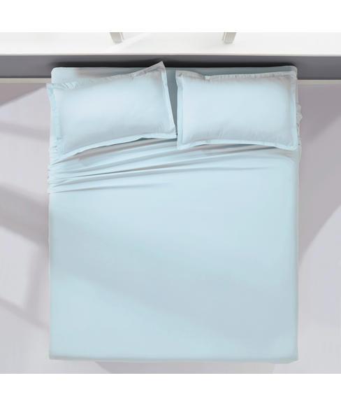 Supercale Light Blue Bedsheet Super King Size