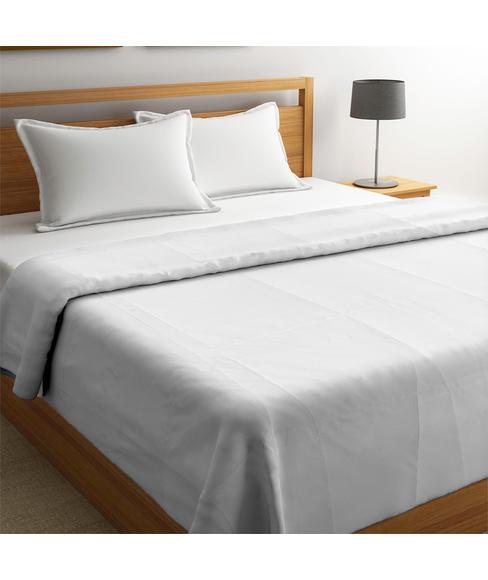 Forever White Basic Bedsheet Double Size
