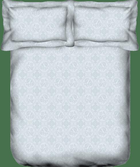 Just Us Silky Grey Bedsheet Super King Size