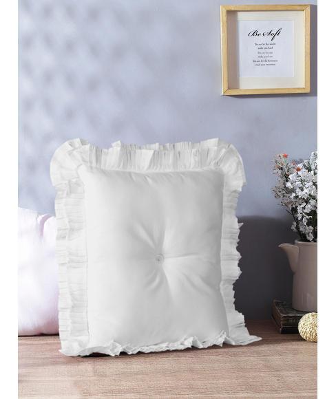 Just Us Pristine White Cushion Regular Size