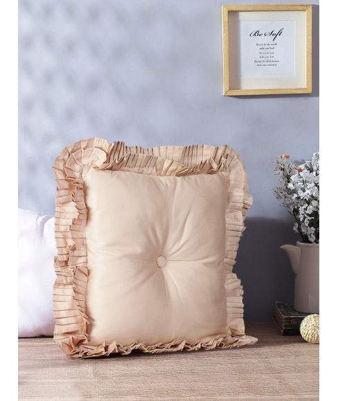 Just Us Intimate Gold Cushion Regular Size