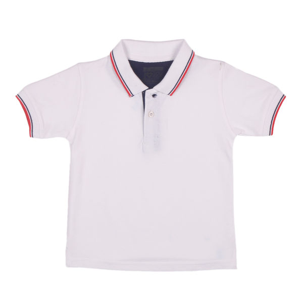 WMB BRIGHT WHITE BOYS T SHIRTS CR CEDAR POLO