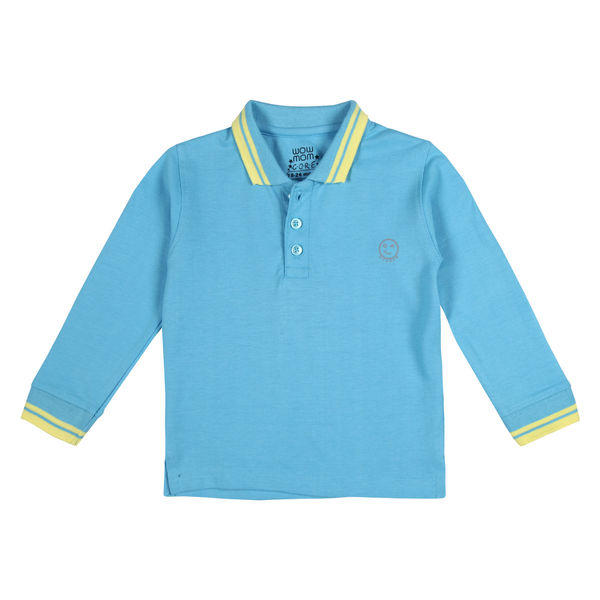 WMB LIL BOY BLUE BOYS POLO CR CEDAR POLO