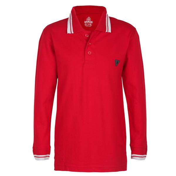 SYB FIERY RED BOYS POLO CR CLUB POLO