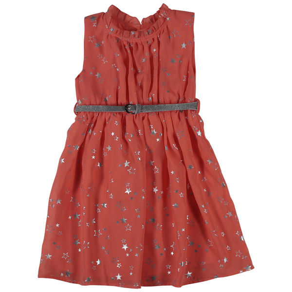 SYG IMPATIENT PINK GIRLS DRESS FS DIANA DRS