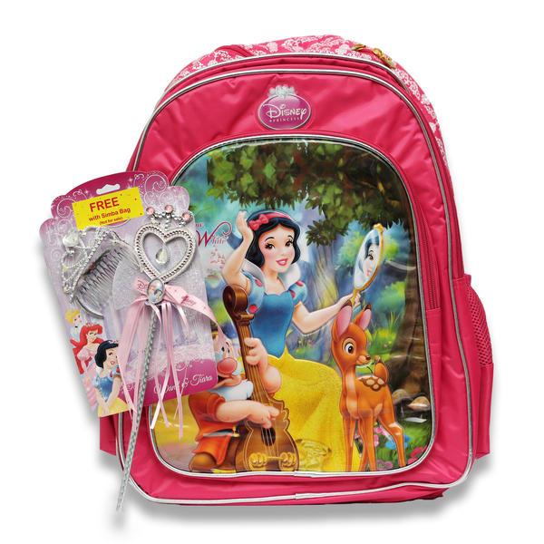PRINCESS MAGIC MIRROR SCHOOL BACKPACK 18INCH BP