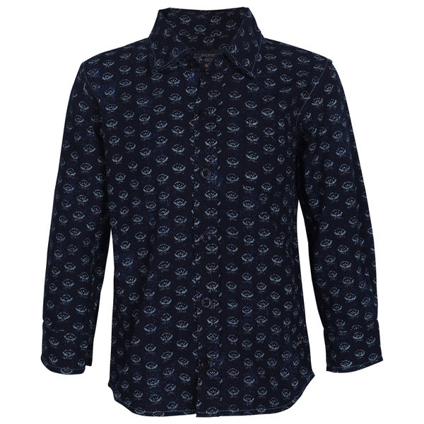 SYB DARK BLUE BOYS SHIRTS OB OPLA SHI