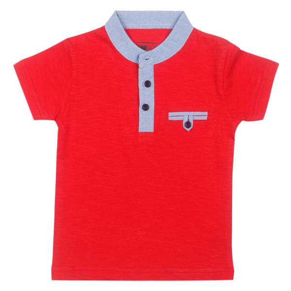 WMB FIERY RED BOYS T SHIRTS OB ORGANZA TEE