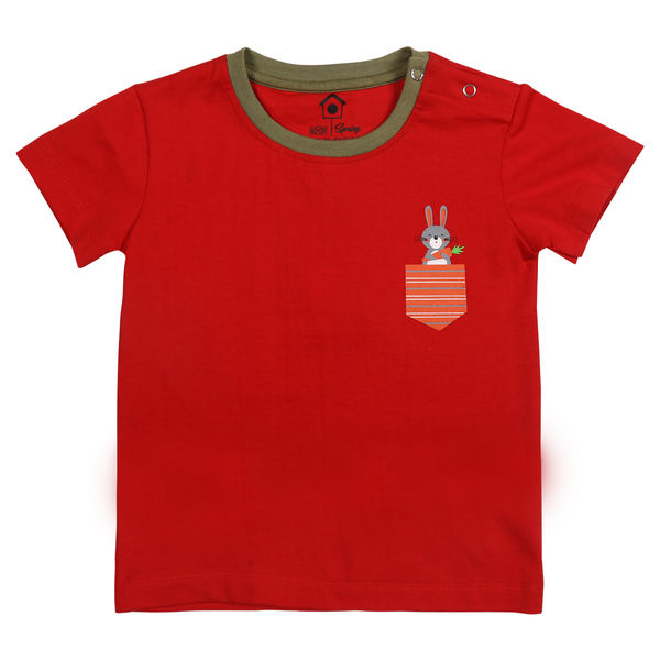 WMB FIERY RED BOYS T SHIRTS SG GYPSY TEE