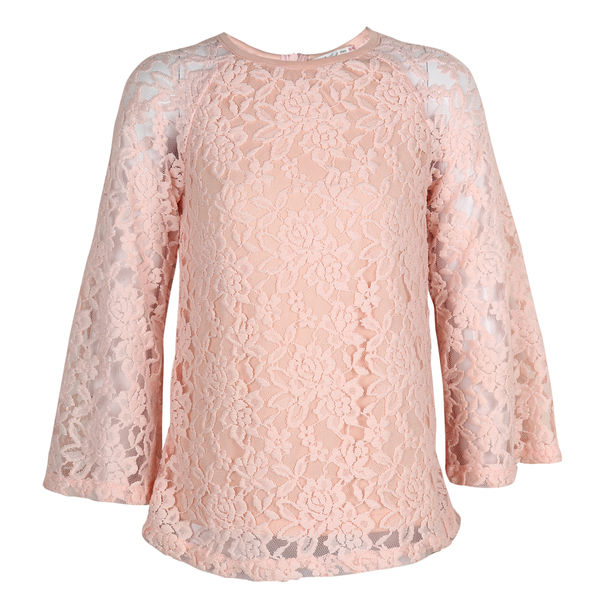 SYG VEILED ROSE GIRLS TOPS ST STEPHNIE TOP