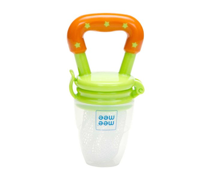 Mee Mee Baby Fruit & Food Nibbler (Orange/Yellow)