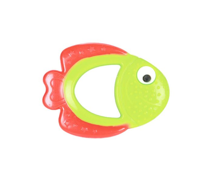 Mee Mee Multi-Textured Water Filled Teether (Red/Green)