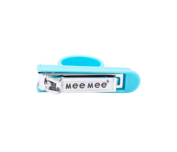 Mee Mee Baby Nail Cutter with Easy Grip (Blue)