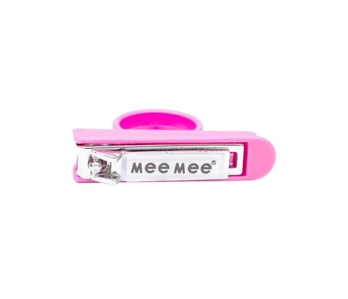 Mee Mee Baby Nail Cutter with Easy Grip (Pink)