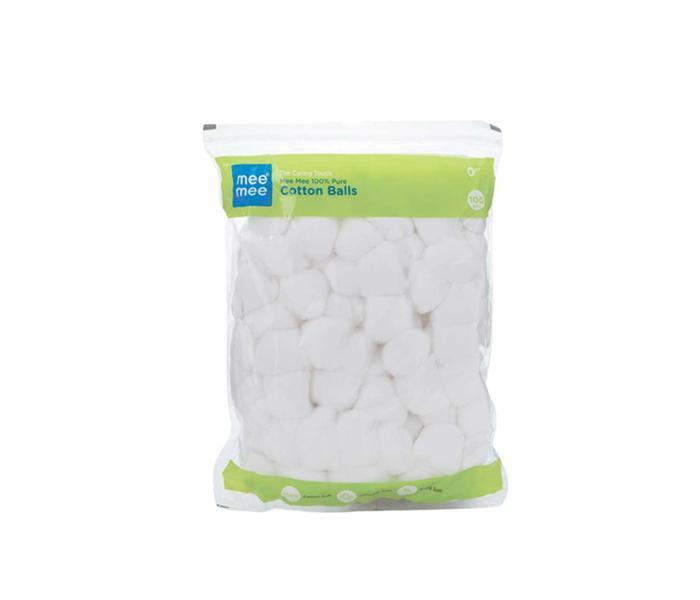 Mee Mee 100% Pure Cotton Balls (White)