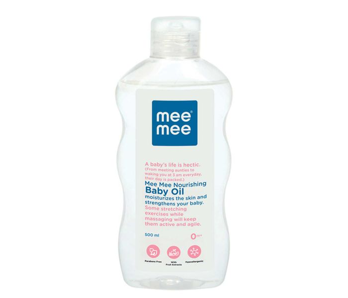 Mee Mee Nourishing Baby Oil - 500 ml
