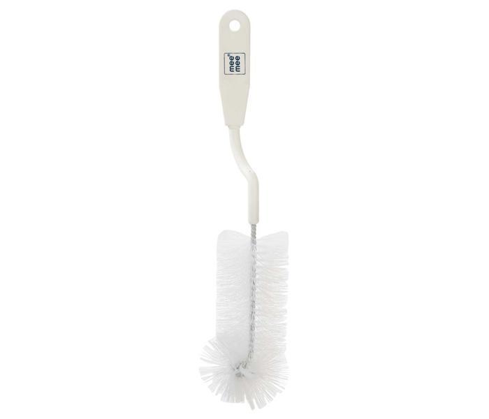 Mee Mee Bottle & Nipple Cleaning Brush (White)
